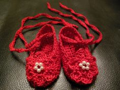 Newborn Infant Baby Girl Reborn doll Booties by ItsyBitsyBabyToes, $17.00