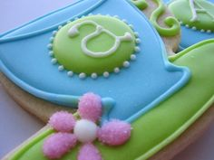 AFTERNOON TEA Teacup and Teapot Sugar Cookie Party Favors. $3.00, via Etsy.