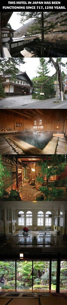 Hotel in Japan functioning since 717