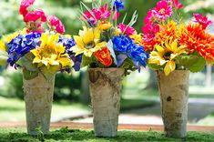 birch bark containers  ♥ ♥ ♥ Follow [YumYum Weddings @ Pinterest] for 2013's best wedding pinspiration now.
