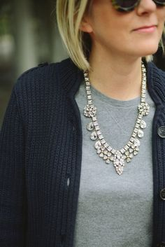 A Gap sweater as featured on the blog @Kiley Stenberg.