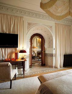 the style saloniste - La Mamounia, Morocco