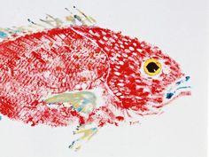Fish Aye Trading - Fish Rubbing Placemats and Prints