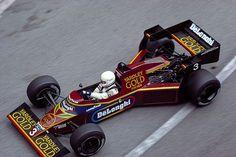 1984 Martin Brundle, Tyrrell Racing Organization, Tyrrell 012 Ford