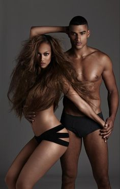 BAM! Tyra Banks and Rob Evans for ANTM College Edition