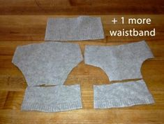 Katrina's Wool Diaper Cover Soaker Sewing Pattern | Right Side Wrong Side Sewing Blog