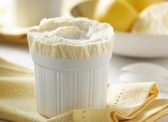 Frozen Lemon Soufflé  -