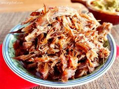Slow Cooker Carnitas - The best thing to ever come out of my crockpot!