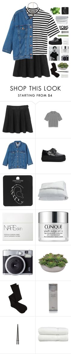 """ALPHABET BOY"" by hhuricane ❤ liked on Polyvore featuring Monki, Topshop, Frette, NARS Cosmetics, Clinique, Lux-Art Silks, Charlotte Russe, Christian Dior, Linum Home Textiles and yoins"
