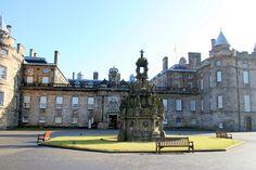 Holyrood Palace, Edinburgh, Scotland (original photography)