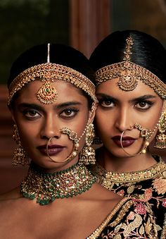 """sabyaasachi: """"""""FIRDAUS by Sabyasachi Models: Archana Akhil Kumar & Dayana Erappa """" """""""