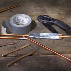 Gearhead tip: Repair a tent pole with sticks and duct tape.
