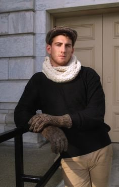 Vermont Fashion - Winter Moose Prototype Gloves, Sixpence and Cowl: Hand woven or knit in Vermont, USA. Yarns spun, and half the fiber sourced in the same region. Colors naturally occurring in the fiber, or produced with plant based dyes. Pure, new 50% alpaca wool & 50% fine sheep wool.   #handwoven,#sustainablefashion,#greenfashion#localvermont,#ecofashionvermont.