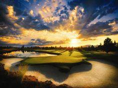Golfing in Oregon