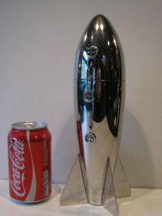 Rocket Cocktail Shaker Vintage 50s 60s Style Barwear Bar Top Space Age Funky Fab | eBay
