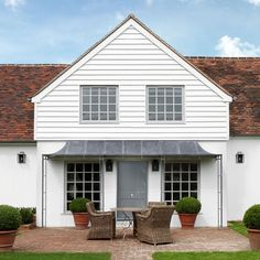 For your front door porch, Garden Requisites offer porch designs in steel. Bespoke metal porches available - Victorian porches and porch canopy designs. Front Door Entryway, Front Door Porch, Front Doors With Windows, Glass Front Door, Entry Doors, Entryway Ideas, House Entrance, Door Ideas, Porch Ideas