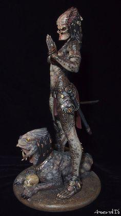 ancient PREDATOR『The Assassins』完成品|模型と造型と雑食イラストのブログ