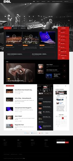 rock music web site