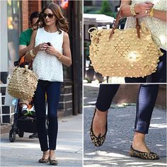 Olivia Palermo rocking such a cute look