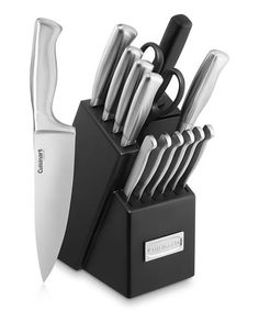 Look what I found on #zulily! Hollow Handle Knife Block Set by Cuisinart #zulilyfinds