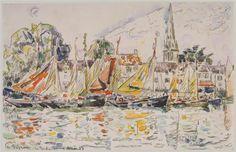 Fisihing Boats - Paul Signac