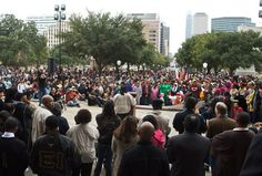 This website has great content on events in Austin for MLK day 2013