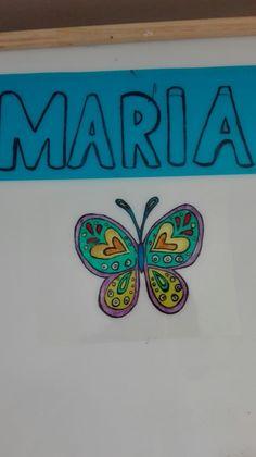 Mariposa mesa de Luz