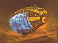 Spice Container from Jodorowsky's unproduced DUNE. Art by Chris Foss.