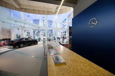 POP UP STORES! Mercedes Benz pop up store by Buro Loods, The Hague   Netherlands