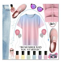 """SheIn♥ :)"" by av-anul ❤ liked on Polyvore featuring Grafea, Deborah Lippmann, Aries, Vans, Wildfox, RetroSuperFuture, shein and avanul"
