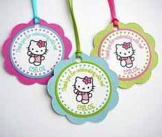 Hello Kitty Favor Tags