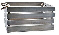 Skrzynka drewnina Grey I