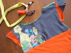 Upcycled tshirt dress!