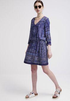 Esprit - SANTORINI - Sommerkjole - maldive blue Santorini, Casual, Blue, Dresses, Fashion, Vestidos, Moda, Fashion Styles, Dress