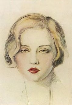 Tallulah Bankhead by Olive Snell (Mrs Lecky Pike) (British exh. 1910-1940)