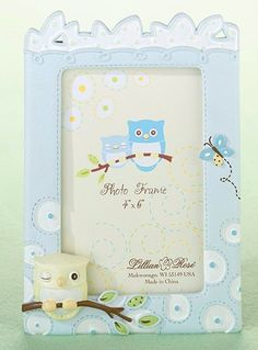 NY GIFT BOX - Blue Owl Picture Frame  , $15.00 (http://www.nygiftbox.com/blue-owl-picture-frame/)