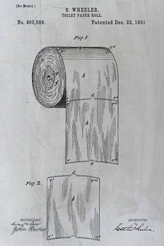 The patent for toilet paper should settle the over vs under debate.