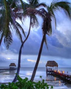 Sunrise After The Rain - San Pedro, Ambergris Caye, Belize