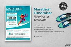 Marathon Fundraiser Free Flyer