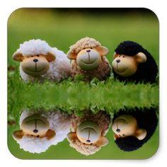 Wildlife Sheep/n Square Sticker - animal gift ideas animals and pets diy customize Diy Stuffed Animals, Pet Gifts, Motto, Animals And Pets, Sheep, Quotations, Wildlife, Jokes, Stickers