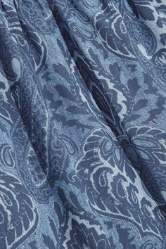 MICHAEL Michael Kors - Printed Chiffon Top - Blue - x large
