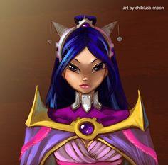 Musa knight by chibiusa-moon.deviantart.com on @deviantART