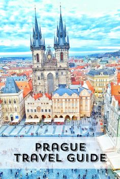 Enjoy the Adventure - The fairytale city of Prague, Czech Republic. Featuring amazing restaurants, boat trips and churches to visit.