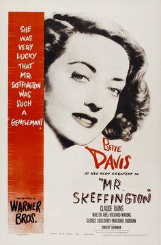 mr skeffington poster. bette davis-----------1944