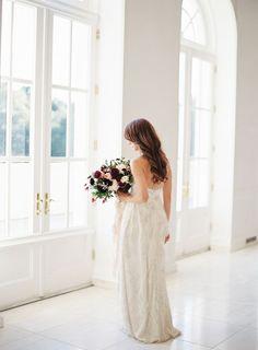 Rich and Delicate Wedding Inspiration via oncewed.com