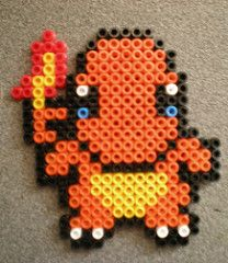 Charmander Hama (Evantares) Tags: ikea beads patterns pokemon hama charmander patrones plantillas pyssla evantares