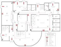 Perfect fire escape plan software with rich examples and