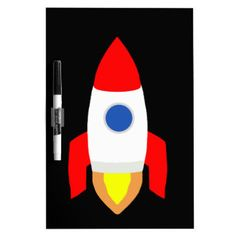 Rocket Dry-Erase Board - http://edrndm.space/1UpCPMF