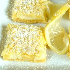 Easy Cream Cheese Lemon Bars