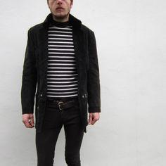 70s Cowboy Tassel Suede Jacket. Also mime shirt...